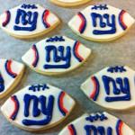 NY Giants Cookies