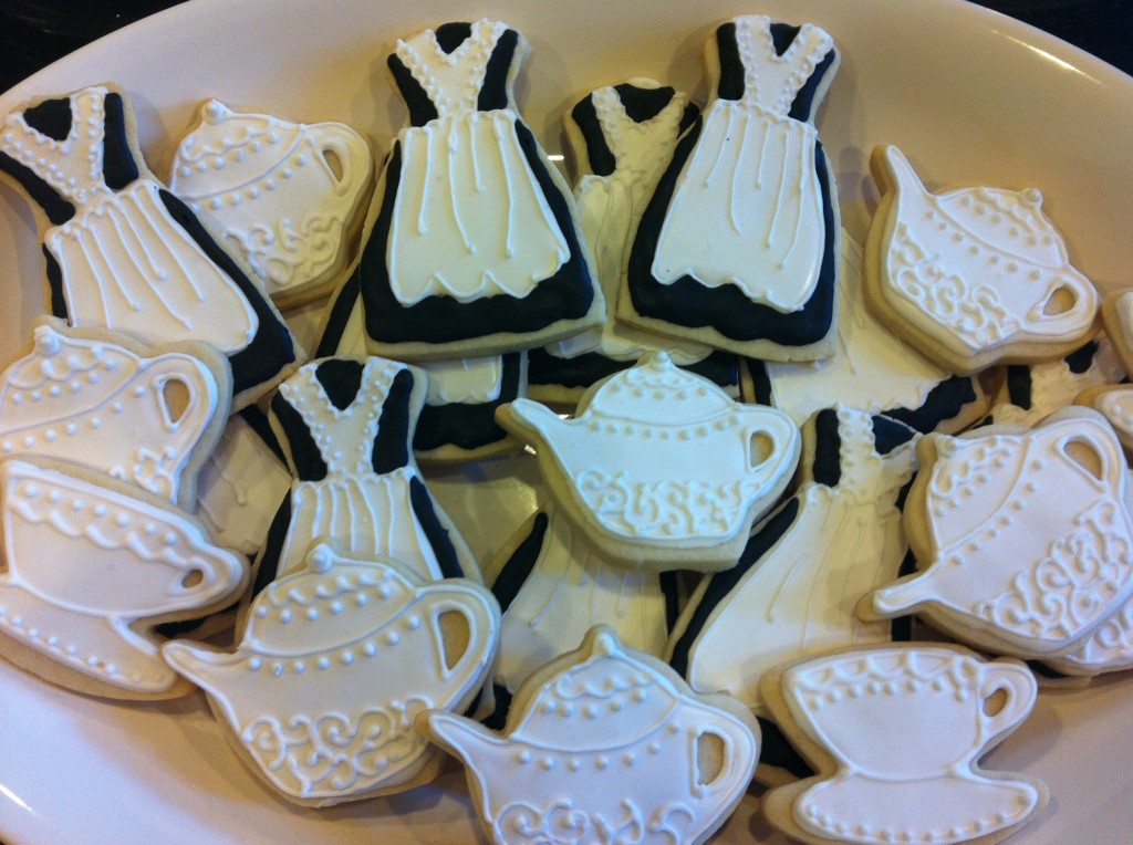 Maid & Teapot Cookies